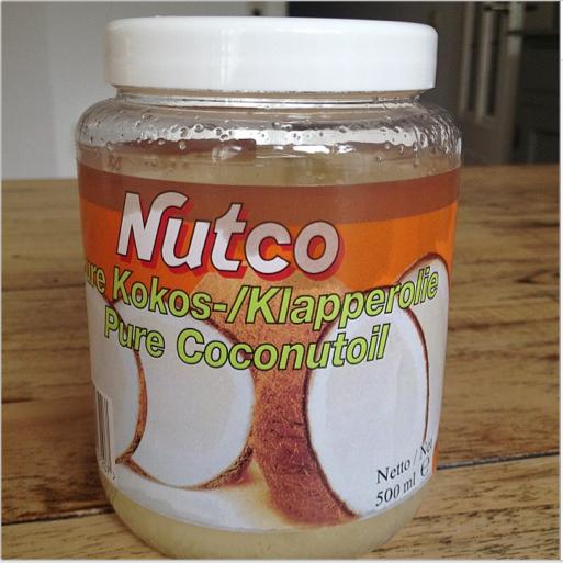 Pure Kokosolie als creme