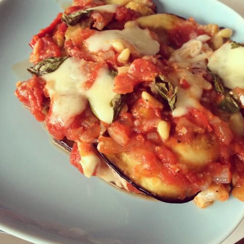 lasagne zonder pasta